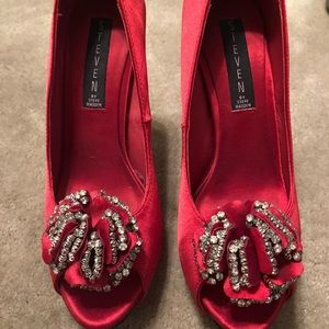 Steve Madden red shoes